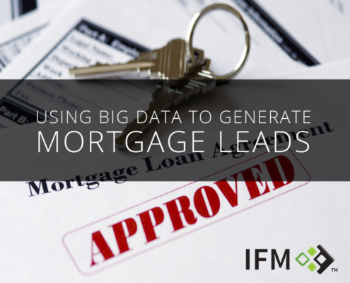 Big Data Mortgage Leads